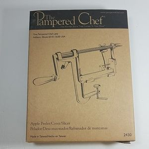 Pampered Chef Kitchen - The Pampered Chef Apple Peeler and Stand